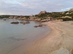 La Maddalena . spiaggia del Cardellino.