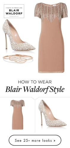 """#37"" by emsulli on Polyvore featuring Raishma, Casadei and Anita Ko Blair Waldorf Outfits, Blair Waldorf Style, Gossip Girl Outfits, Gossip Girl Fashion, Classy Outfits, Trendy Outfits, Fashion Outfits, Womens Fashion, Blair Fashion"