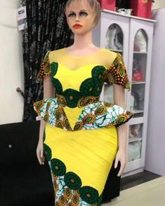 Ankara Long Gown Styles, African Lace Styles, Latest African Fashion Dresses, African Print Dresses, African Dresses For Women, African Attire, Latest Ankara Dresses, Latest Ankara Short Gown, Ankara Gowns