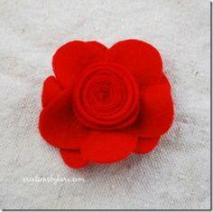icandy handmade: (eyeCandy) Felt Flower