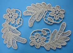 Small patch Smaranda: Romanian lace, crochet Irish Crochet, Crochet Lace, Macrame Patterns, Crochet Patterns, New Crafts, Arts And Crafts, Bruges Lace, Romanian Lace, Point Lace