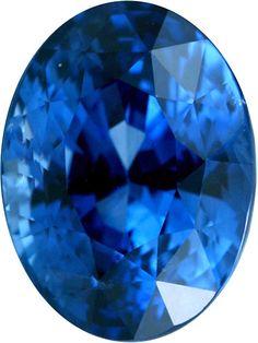 Genuine Blue Sapphire Loose Gemstone, Oval Cut, 11.4 x 8.5 mm, 6.03 Carats at BitCoin Gems