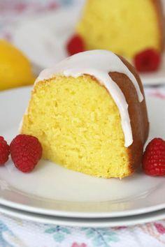 Lemon Bundt Cake   The Carefree Kitchen Best Lemon Bundt Cake Recipe, Lemon Blueberry Bundt Cake, Bundt Cake Pan, Bundt Cakes, Lemon Icing, Small Cake, Eat Dessert First, Cupcake Cakes, Cupcakes