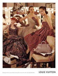 Model friends in stunning dresses