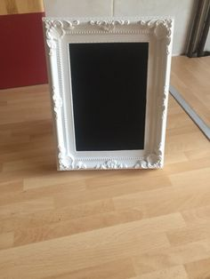 Handmade Chalkboard Vintage Style Frame Shabby Chic A5 Size Table Setting Decor