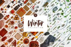 Winter Collection Scene Creator by Custom Scene on @creativemarket