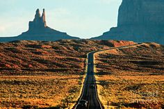 View Of Monument Valley Photograph