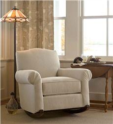 USA-Made Bedford Collection Upholstered Cottage Rocker