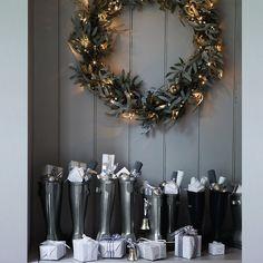 Christmas in grey
