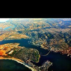 San Diego, Todd and I used to live smack in the center of this photo