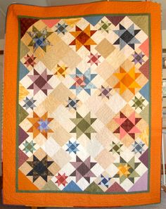 """I Have a Dream,"" from the original block and quilt patterns in Judy Martin's books, The Block Book, and Cookies 'n' Quilts."