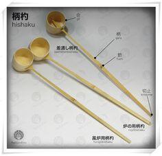 Image result for Hishaku (柄杓)