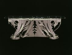 Albert Paley-Silver Wave Table.