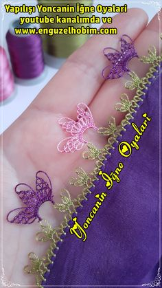 Needle Lace, Baby Knitting Patterns, Jewelry, Youtube, Lace, Crocheting, Needlepoint, Dressmaking, Flowers
