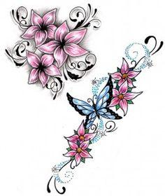 Flower Tattoo Designs For Women