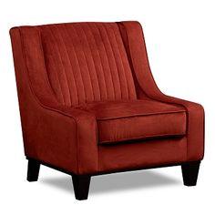 Nouveau Upholstery Accent Chair   Furniture.com