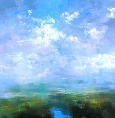 Cloud break by Craig Mooney Oil ~ 48 x 48