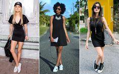 12 looks fashionistas que vão te ensinar a incrementar o vestidinho preto! - Moda - CAPRICHO