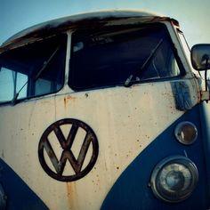 volkswagen, vw, surfer photo, vintage california, bus, pacific, navy blue, white, silver, beach, surfer, boys room, retro - VW, 8x8. $28.00, via Etsy.