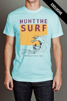 Hunt The Surf Tee