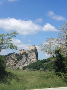 San Leo with its fortress