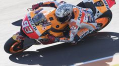 #MOTORSPORTS  #MOTORS   VALENCIA, SPAIN - NOVEMBER 11:  Marc Marquez of Spain and Repsol Honda Team rounds the bend during the MotoGP of Valencia - Free Practice at Ricardo Tormo Circuit on November 11, 2016 in Valencia, Spain.  (Photo by Mirco Lazzari gp/Getty Images)