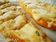 Pão de alho com queijo - Ideal Receitas