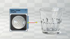 Descarga Cristal simple – Material VRay