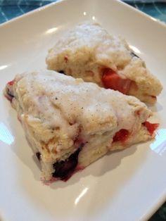 Berry Lemonadesicle Scones Recipe - (sweetbetweens)