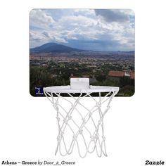Every basketball fan needs a mini basketball hoop! Shop for a basketball hoop or design your own at Zazzle. Mini Basketball Hoop, Acropolis, Athens Greece, Macedonia, Games, Ocean, Ship, Beach, Plays