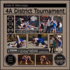 District #wrestling tournament clean layout, 7 pics, mini