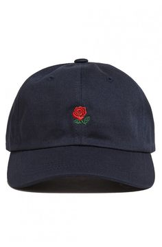 c36780148b4c2 ROSE DAD HAT - Navy Black Hat Baseball