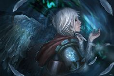 Videojuego League Of Legends  Riven (League Of Legends) Fondo de Pantalla