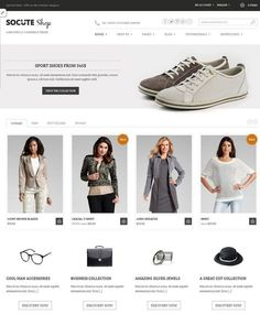 Socute-Free E-Commerce Theme