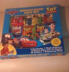 Deluxe Gift Book Set/ Includes Disney Pixar Cars, Disney Pixar Toy Story Combo