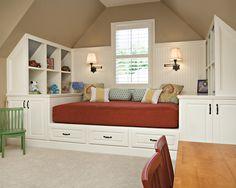 Great use of attic/bonus space