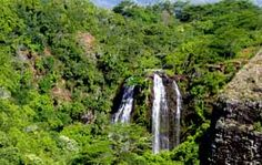 Kauai, Hawaii = Wailua River state park.  Services: Restrooms, picnic areas, trash cans, drinking water, interpretive signage, restaurant, boat tours.