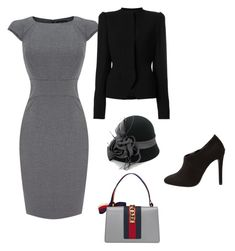 """""""Untitled #496"""" by mchlap on Polyvore featuring Warehouse, Haider Ackermann and Gucci"""