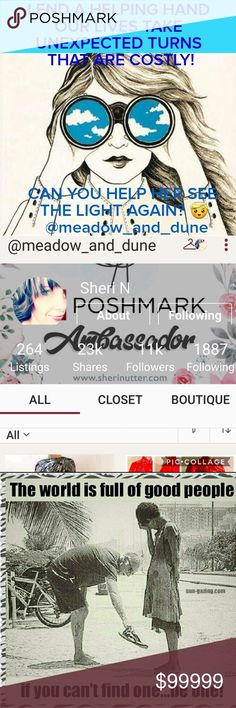 POSH LUV 🎀 LET'S JOIN TOGETHER TO HELP😇  IF YOU WOULD HELP SHARE SHERI'S CLOSET IF YOU COULD BUY, THEN THAT'S EVEN SWEETER!!   SHE HAS BEEN THRU A STORM AND STILL NOT OUT OF THE WOODS YET,  BUT OUR PRAYERS AND SUPPORT WOULD MEAN SO MUCH TO HER AND HER FAMILY💝  THANK Y💝U CINDY POSH LUV💝 Other