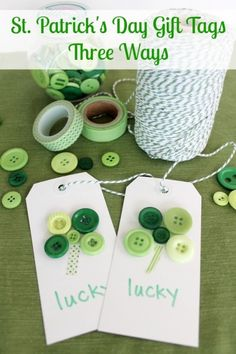 St-Patricks-Day-Tags-PM I Heart Nap Time | I Heart Nap Time - Easy recipes, DIY crafts, Homemaking