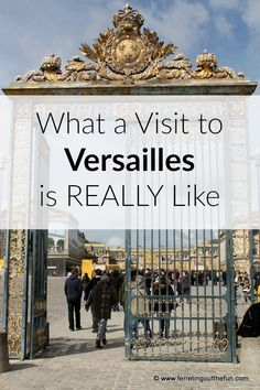Versailles Visitor Tips 2