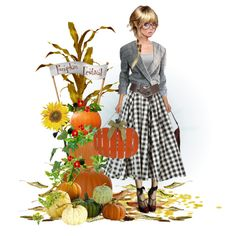 Pumpkin Festival by kateadams-2501 on Polyvore featuring art