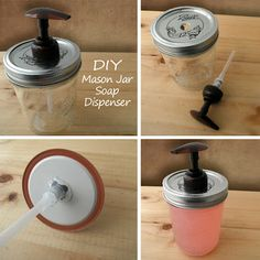 Paula Parrish: {DIY} Mason Jar Soap Dispenser