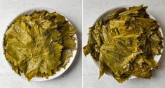 These Lebanese Stuffed Grape Leaves are made with a spiced ground beef and rice mixture - a delicious Mediterranean dish commonly served as an appetizer! Lebanese Chicken, Stuffed Grape Leaves, Middle Eastern Dishes, Feel Good Food, Beef And Rice, Lebanese Recipes, Mediterranean Dishes, Food Network Recipes, Ground Beef