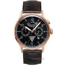 Ceasul face parte din gama G38, cu mecanism Miyota, elaborat de Citizen si modificat de Point Tec, Germania. Omega Watch, Bracelets, Germania, Watches, Leather, Accessories, Bangle Bracelets, Wrist Watches, Wristwatches