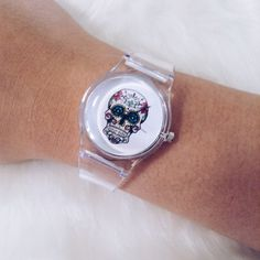 • SALE • Transparent Skull Watch • ITEM DETAILS: • Fashion watch • Analog • Stainless steel  DISCOUNT: • On bundles • 30% off for return customers  SHIPPING: • The next day  NOTE: • Color may be slightly different from the actual item due to the lighting • Reasonable offers welcome Accessories Watches
