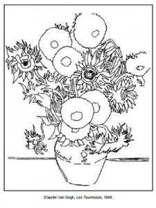 Dibujo para colorear el grito control de esfinteres - Coloriage van gogh ...
