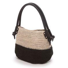 トプカピ TOPKAPI アバカ・バイカラー・ミニトートバッグ(ブラック) -「買ってから選ぶ。」靴とファッションの通販サイト ロコンド