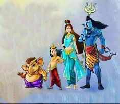 Shiva Family Wallpaper pictures in the best available resolution. Shiva Parvati Images, Mahakal Shiva, Shiva Art, Hindu Art, Rudra Shiva, Lord Murugan Wallpapers, Shiva Lord Wallpapers, Lord Shiva Hd Images, Ganesh Images