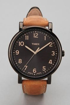 RVG - Timex black face watch.